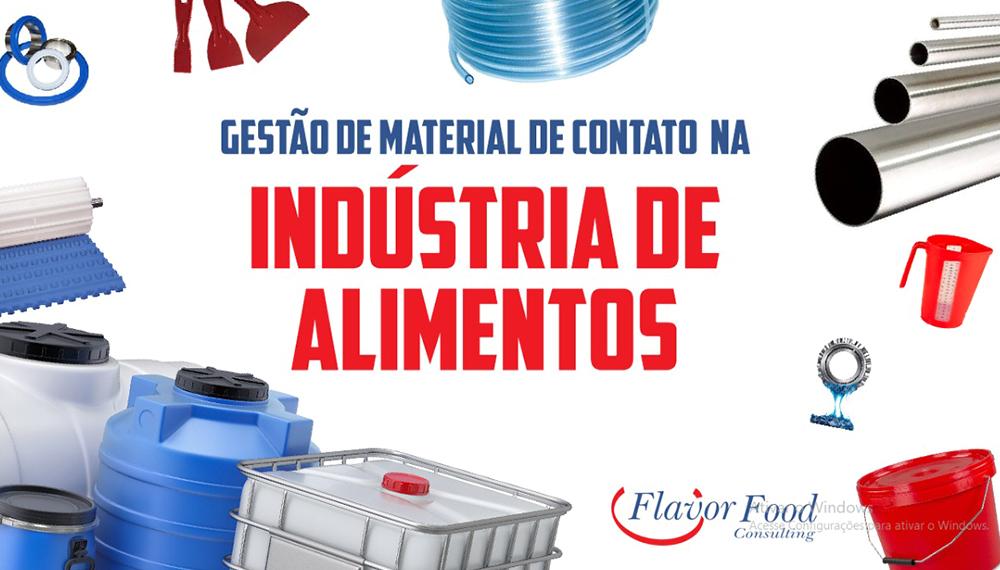 Gestão de Materiais de Contato na Indústria de Alimentos